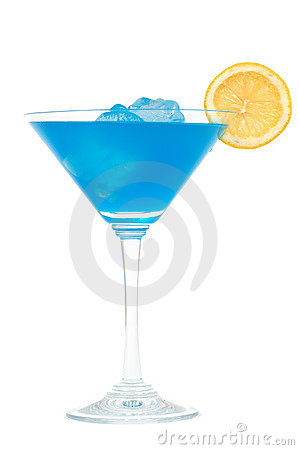 Free Blue Cocktail Royalty Free Stock Images - 1024059