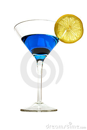 Free Blue Cocktail Royalty Free Stock Images - 288369