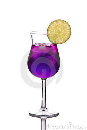 Free Blue Cocktail Stock Image - 4364161