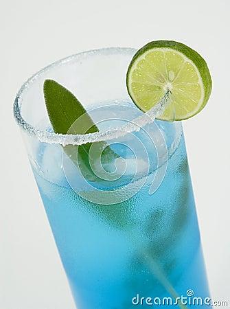 Free Blue Cocktail Stock Photos - 7699813