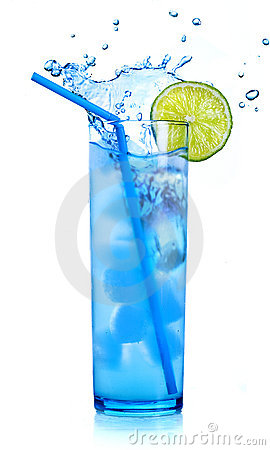 Free Blue Cocktail Martini Royalty Free Stock Image - 19972726