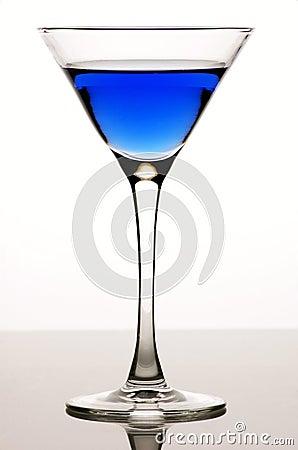 Blue coctail
