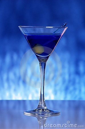 Free Blue Coctail Royalty Free Stock Images - 5343009