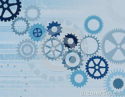 Blue Cogs / Gears