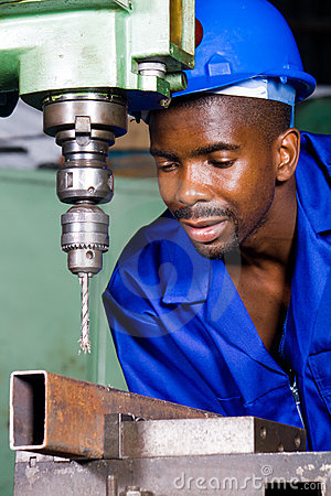 Stock Photography: BLUE COLLAR WORKER