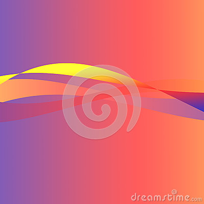 Blue color dynamic lines modern abstract