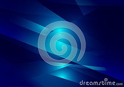 Blue color geometric gradient illustration graphic vector background. Vector polygonal design for your business background Vector Illustration