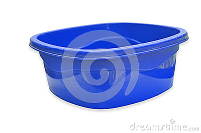 Blue color Plastic bowl