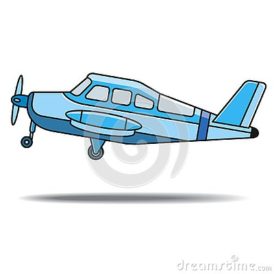 Free Blue Color Propeller Aircraft Take Off Royalty Free Stock Photography - 129926877