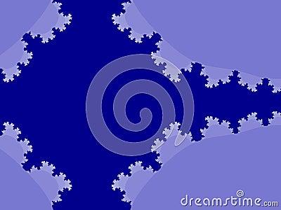 Blue content box