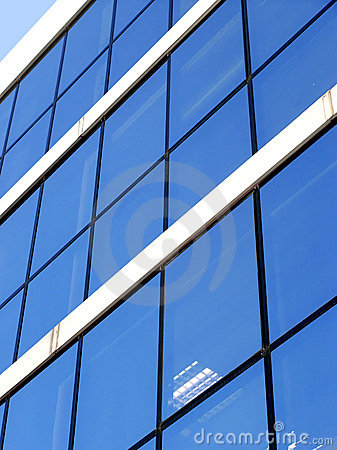 Free Blue Corporate Building Royalty Free Stock Image - 33776
