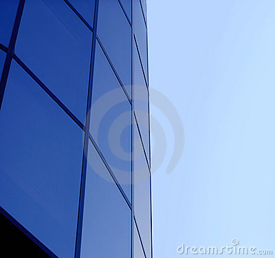 Free Blue Corporate Building Stock Image - 33781