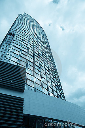 Free Blue Corporate Building Stock Images - 7385654