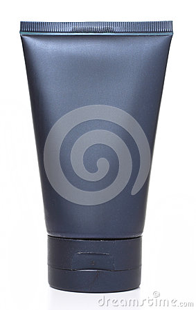 Free Blue Cosmetic Bottle On White Background Royalty Free Stock Photo - 36604735