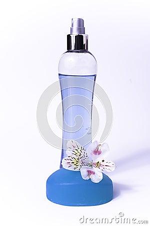 Blue cosmetics