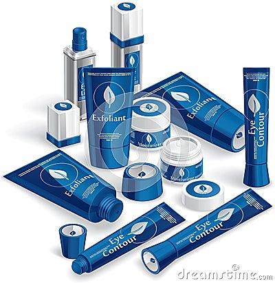 Blue Cosmetics Array