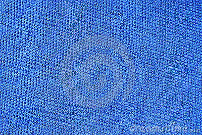 Blue cotton fabric