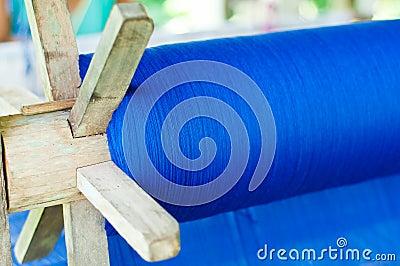 Blue cotton weave