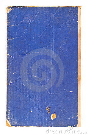 Blue cover old book
