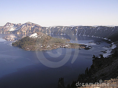 Blue Crater Lake,