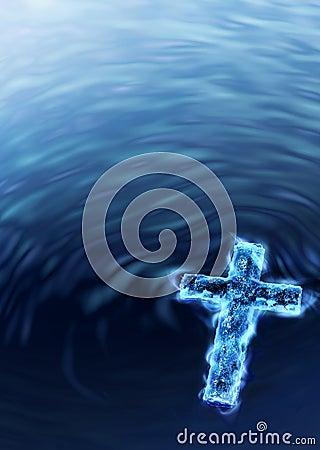 Blue Water Cross