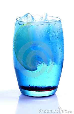 Free Blue Curacao Drink Stock Images - 18227414