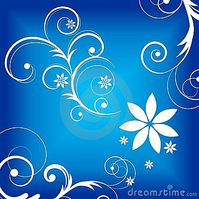 Free Blue Curly Graphic Royalty Free Stock Photography - 18989767