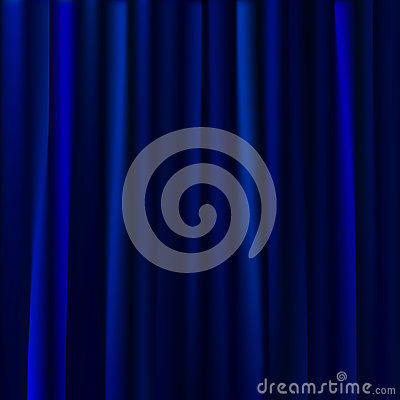 Curtains Ideas curtains background : Blue Curtains Background. Vector Illustration Stock Vector - Image ...
