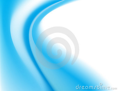 Blue curves background