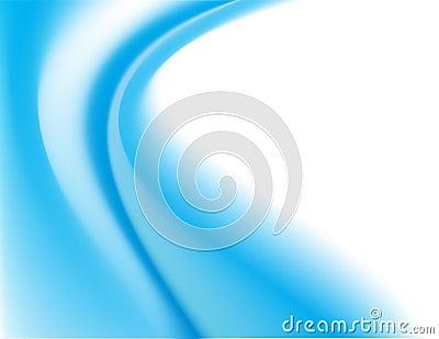 Blue curves background