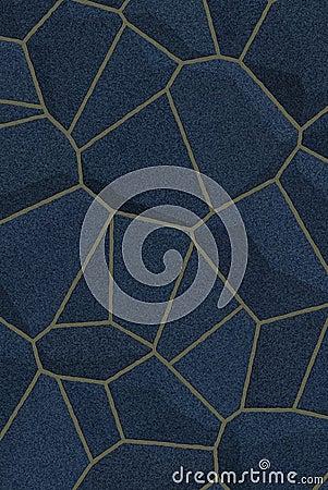Blue dark stone texture