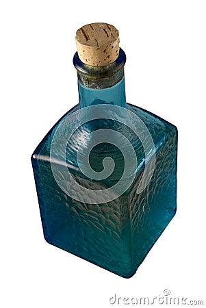Blue Decorative bottle