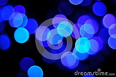 Blue defocus light background