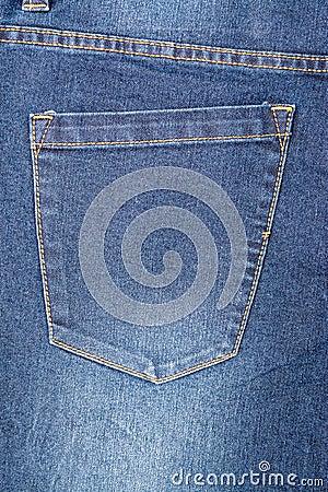 Free Blue Denim Jeans Pocket Royalty Free Stock Images - 37992129