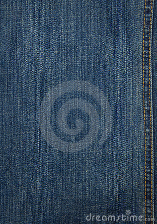 Free Blue Denim Texture Stock Image - 20240241