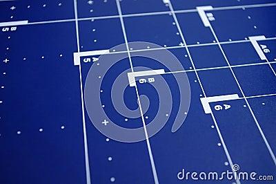Blue desk background