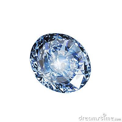 Free Blue Diamond Stock Photo - 60293910