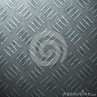 Blue Diamond Plate