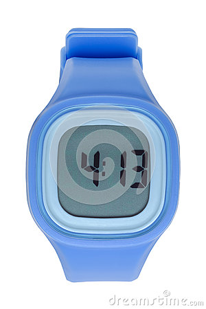 Free Blue Digital Watch Stock Photos - 85651793