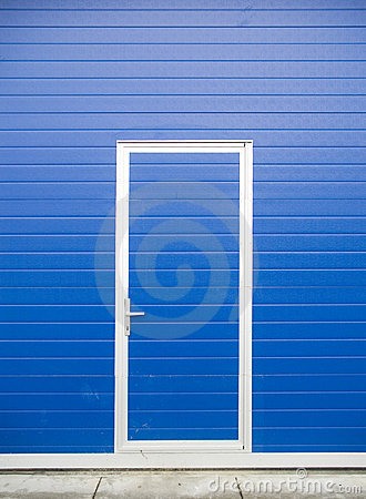 Free Blue Door Royalty Free Stock Photo - 1936195