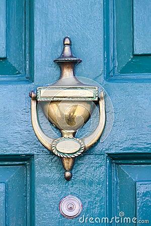 Free Blue Door Royalty Free Stock Photos - 52850458