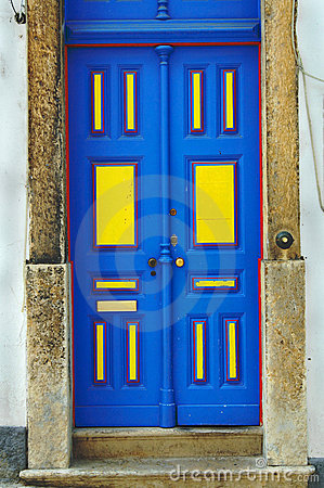Free Blue Door Stock Images - 5694764