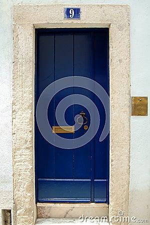 Free Blue Door Royalty Free Stock Photos - 6125828