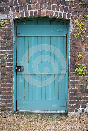 Free Blue Door Royalty Free Stock Photography - 67806317
