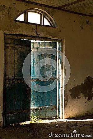 Free Blue Door. Stock Photos - 83259813