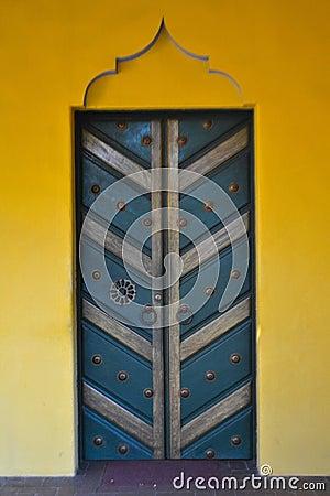 Free Blue Door Stock Images - 94467804