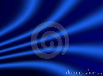 Blue drapery background
