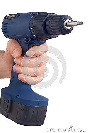 Blue drill - blaue Bohrmaschine