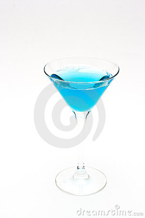 Free Blue Drink Royalty Free Stock Photos - 2960898