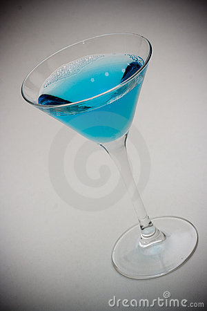 Free Blue Drink Royalty Free Stock Images - 2960909